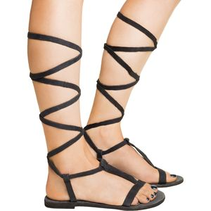 Free People Dahlia Lace Up Sandal - Women's