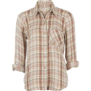 Free People Joplin Plaid Button-Down Shirt - Women's