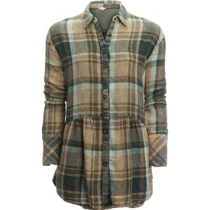 Free People Easy Street Plaid Shirt - Long-Sleeve - Women's
