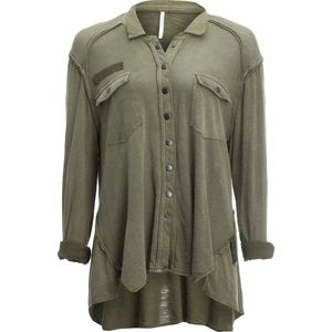 Free People Monday Morning Button-Down Shirt - Women's