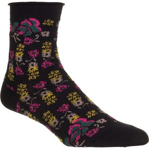 Free People Floral Anklet Sock - Women's