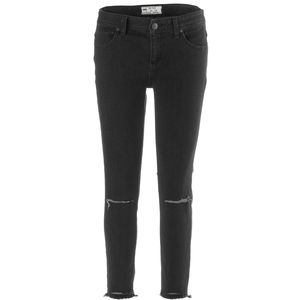 Free People Skinny Destroyed Ankle Denim Pant - Women's