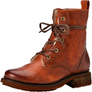 Frye Valerie Lace Up Shearling Boot - Women's