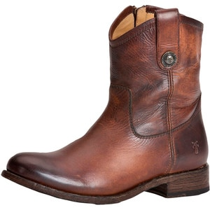 Frye Melissa Button Short Boot - Women's