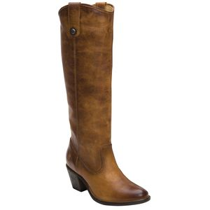 Frye Jackie Button Washed Antique Tall Boot - Women's