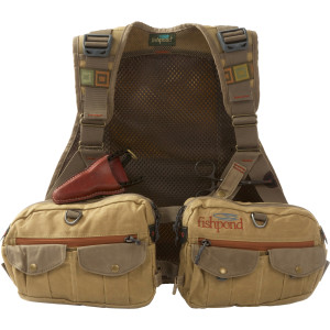 Fishpond Vaquero Waxed Canvas Vest