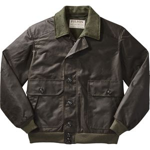 Filson Ranger Oil Cloth Bomber Jacket - Men's