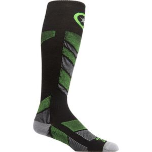 Farm To Feet Waitsfield Lightweight Chevron Knit Ski Sock