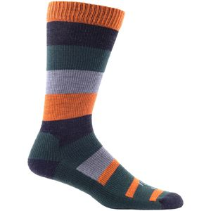 Farm To Feet Rutherford College Wide Stripe Sock