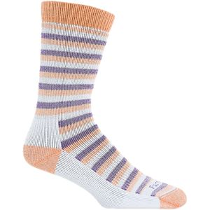 Farm To Feet Kittery 2 Stripe Stylized Traditional Hiker Sock - Women's