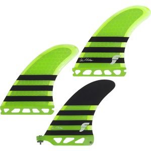 Futures Colin 2+1 Honeycomb Fin Set