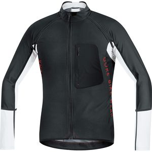 Gore Bike Wear Alp-X Pro WS SO Zip-Off Jersey - Long Sleeve - Men's