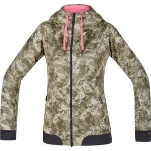 Gore Bike Wear Power Trail Lady WindStopper Hooded Softshell Jacket - Women's