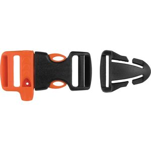 GearAid Whistle Sternum Strap Buckle Kit with Quick Attach T-Glide