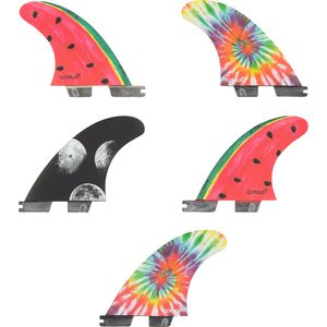 Gorilla Traction Gorilla FCS II Moon Beams & Melon Fin Set
