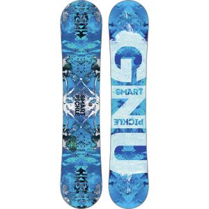 Gnu Smart Mini Pickle PBTX Snowboard - Kids'