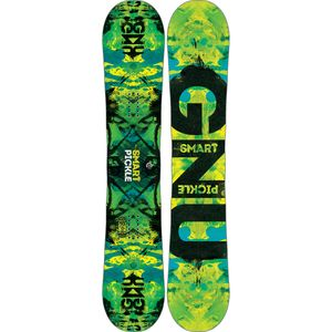 Gnu Smart Pickle PBTX Snowboard - Wide