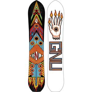 Gnu Forest Bailey Space Out DC2 BTX Snowboard