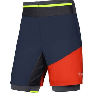 Gore Running Wear Fusion 2-in-1 Short - Men's