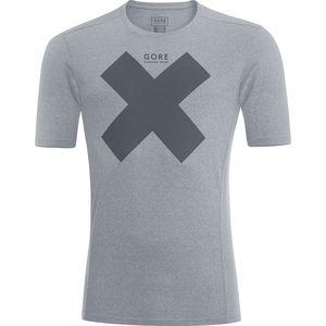 Gore Running Wear Essential Print Shirt - Short-Sleeve - Men's
