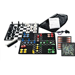 GSI Outdoors Backpack 5-in-1 Magnetic Game Set