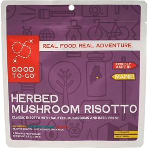 Good To-Go Mushroom Risotto Entree - 2 Servings