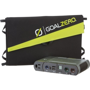 Goal Zero Sherpa 100 Solar Recharging Kit w Nomad 20 and 110V Inverter
