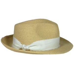 Hat Attack Raffia Braid Wide Brim Continental Hat