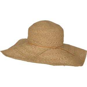 Hat Attack Toast Braided Sun Hat with Vachetta Trim