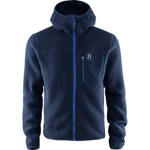 Haglöfs Pile Hooded Fleece Jacket - Men's