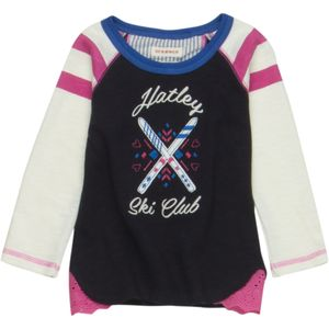 Hatley Graphic Raglan T-Shirt - Long-Sleeve - Toddler Girls'