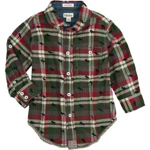 Hatley Bonded Plaid Shirt - Long-Sleeve - Toddler Boys'