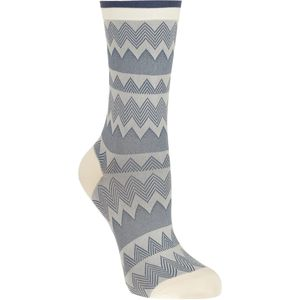 Hansel From Basel Stitch Stripe Crew Socks