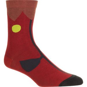 Hansel From Basel Blooming Crew Socks - Women's