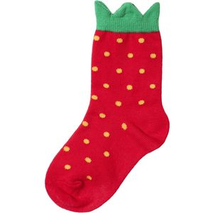 Hansel From Basel Mini Strawberry Crew Socks - Kids'