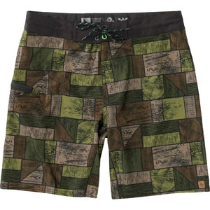 Hippy Tree Woodchip Board Short - Men's