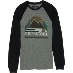 Hippy Tree Alpine Raglan T-Shirt - Long-Sleeve - Men's