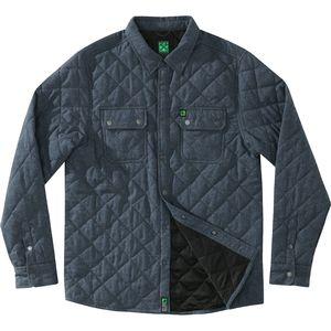 Hippy Tree Stout Quilted Flannel Shirt - Long-Sleeve - Men's