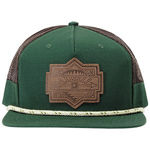 Hippy Tree Plateau Snapback Hat