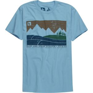 Hippy Tree Boundary T-Shirt - Short-Sleeve - Men's