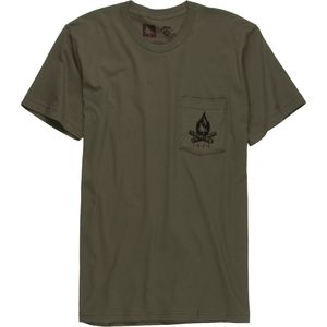 Hippy Tree Bonfire T-Shirt - Short-Sleeve - Men's