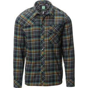 Hippy Tree Crater Flannel Shirt - Long-Sleeve - Men's