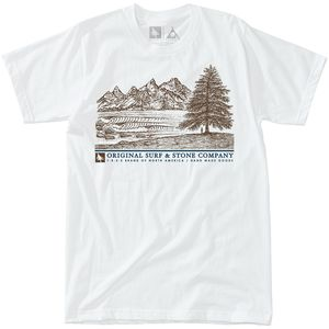 Hippy Tree Waterfront T-Shirt - Men's
