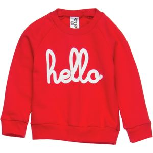 Hello Apparel Hello Raglan Crew Sweatshirt - Toddler Boys'
