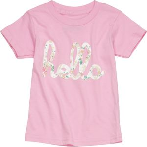 Hello Apparel Hello Floral T-Shirt - Short-Sleeve - Toddler Girls'