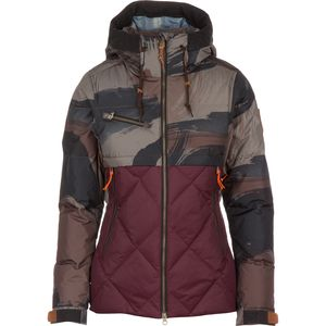 Aya Hooded Down Jacket - Women's