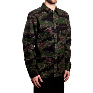 Tiger Camo Shirt - Long-Sleeve - Men's