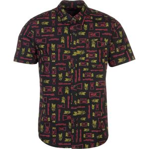 Huf Drink Up Shirt - Short-Sleeve - Men's