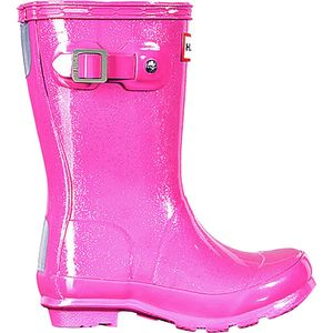 Hunter Boot Original Glitter Finish Boot - Little Girls'
