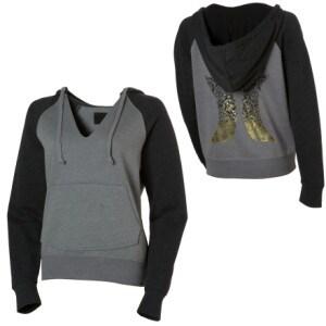 Hurley Mosaic O and I Hooded Sweatshirt - Womens